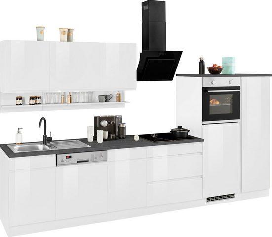 HELD MÖBEL Küchenzeile »Virginia«, ohne E-Geräte, Breite 350 cm