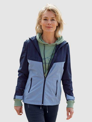Dress In Outdoorjacke (1-St) mit weitenverstellbarer Kapuze