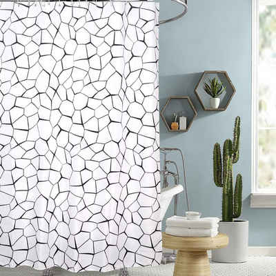 Tongtong Duschvorhang »Duschvorhang, hohe Qualität, Anti-Mehltau-Effekt, wasserdicht, Antibakterielle, Höhe 200 cm,« Breite 180 cm