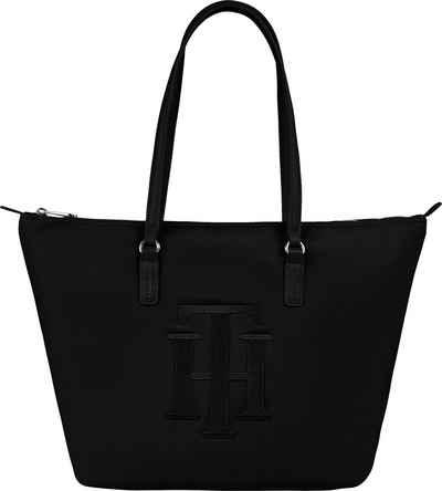 Tommy Hilfiger Shopper »POPPY TOTE TH«, mit großem TH Logodruck