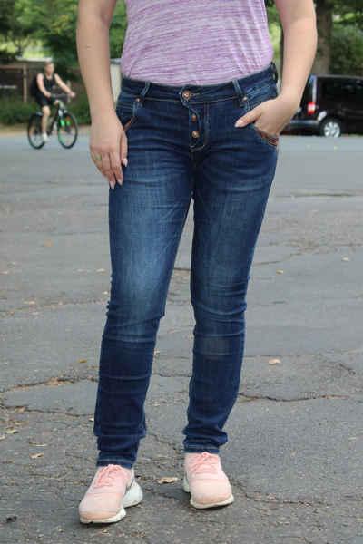 Blue Monkey Stretch-Jeans »Manie -30362«