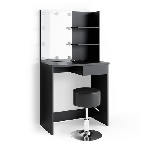 Vicco Schminktisch »DEKOS mit LED und Hocker Frisierkommode Frisiertisch Spiegel«