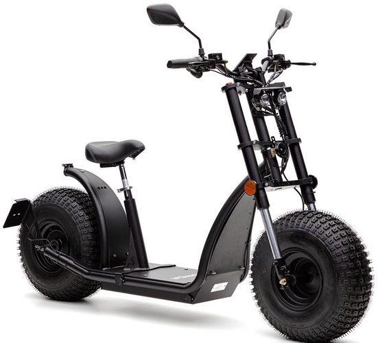 Forca E-Scooter »Knumo 1500 Plus 45 km/h (inkl. Lithium-Akku)«, 1500 W, 45 km/h
