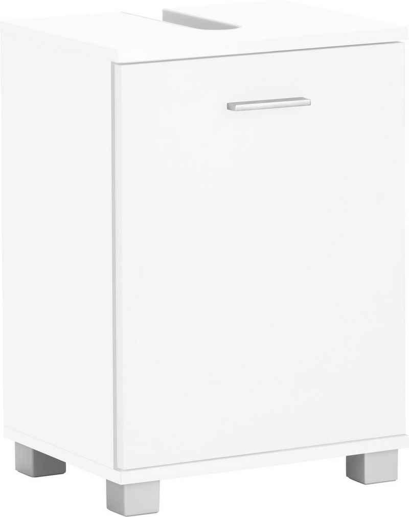 Schildmeyer Waschbeckenunterschrank »Lagona« Breite 41 cm, wechselbarer Türanschlag, Griff & Beschläge aus Metall