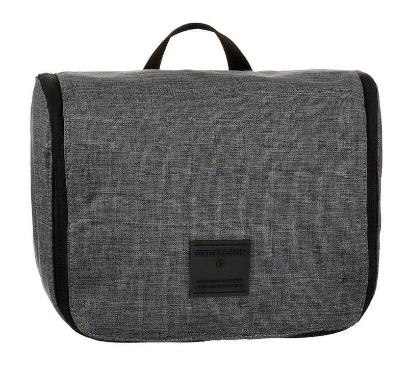 Strellson Kosmetiktasche »northwood 2.0 washbag lhz«, mit Kleiderhaken zum Aufhängen