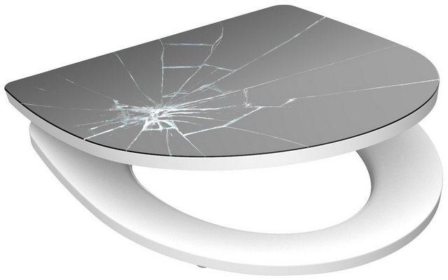 WCs und Zubehör - SCHÜTTE WC Sitz »Broken Glass«, mit Absenkautomatik  - Onlineshop OTTO