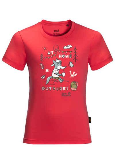 Jack Wolfskin T-Shirt »HAPPY CAMPER T KIDS«