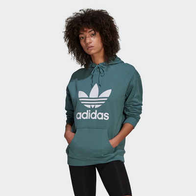 adidas Originals Hoodie »ADIDAS ADICOLOR TREFOIL« mit großem Logodruck