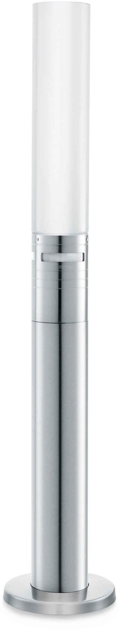 steinel Außen-Stehlampe »GL 60«, 360° Bewegungsmelder, Opal Glas, Höhe wählbar