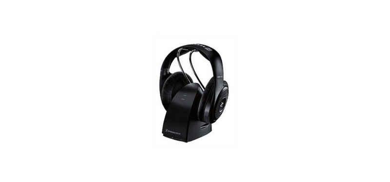 Sennheiser »RS 127-8 EU« Funk-Kopfhörer (Audioanschlusskabel, komfortablen Automatikfunktionen, Automatische Sendersuche, Drahtloser Empfang auch durch Wände und Zimmerdecken ineinem Umkreis von bis zu 150 m)
