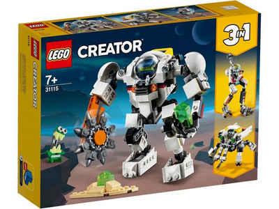 LEGO Creator Spiel, »LEGO® Creator 31115 Weltraum-Mech«
