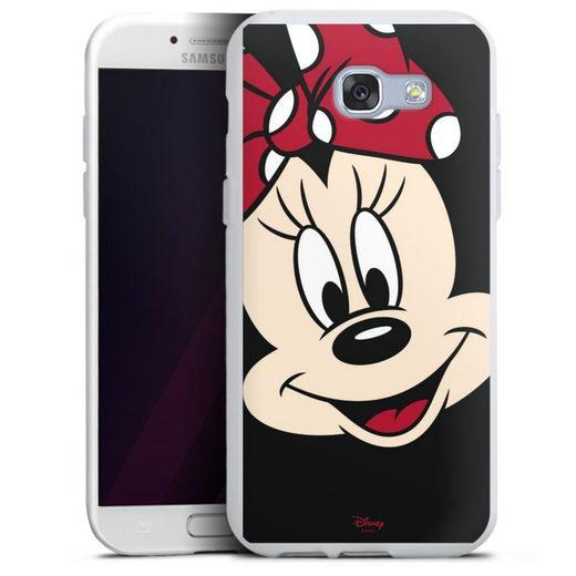 DeinDesign Handyhülle »Minnie All Over« Samsung Galaxy A5 (2017), Hülle Minnie Mouse Disney Offizielles Lizenzprodukt
