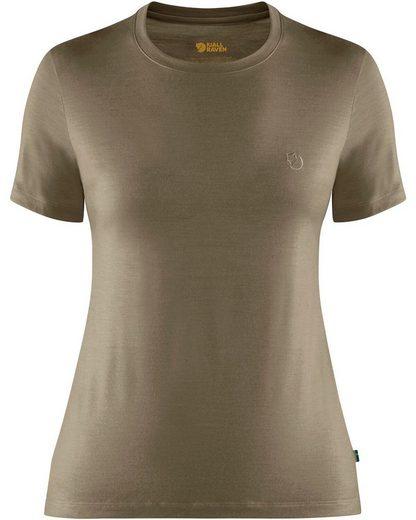 Fjällräven T-Shirt »Damen T-Shirt Abisko Wool«