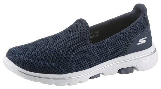 Skechers »Go Walk 5« Slip-On Sneaker mit Air Cooled Goga Mat