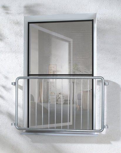 hecht international Insektenschutz-Fenster »MASTER SLIM XL«, anthrazit/anthrazit, BxH: 130x220 cm
