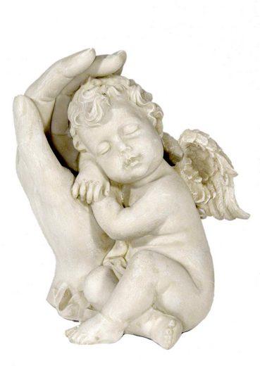 Casa Collection by Jänig Engelfigur »Schlafender Engel an linker Hand lehnend, H 13 cm« (1 Stück)