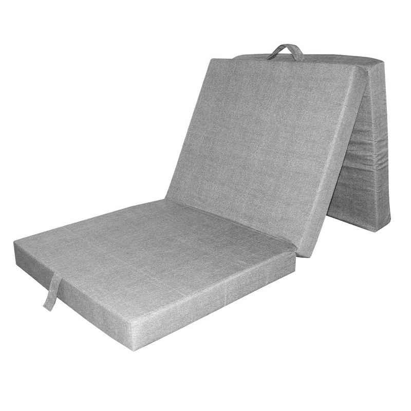 Klappmatratze »Faltmatratze Reisematratze Gästebett Bett 190x70x10cm«, VitaliSpa®