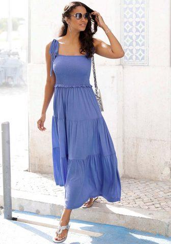 LASCANA Ilga suknelė su platus Smokpart