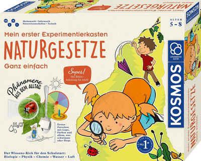 Kosmos Experimentierkasten »Mein erster Experimentierkasten Naturgesetze«, Made in Germany