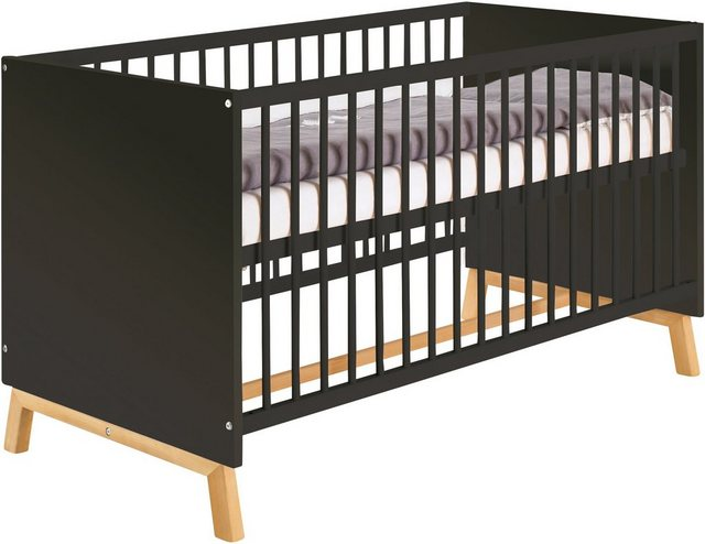 Babybetten - Schardt Babybett »Sienna Black«, Made in Germany  - Onlineshop OTTO
