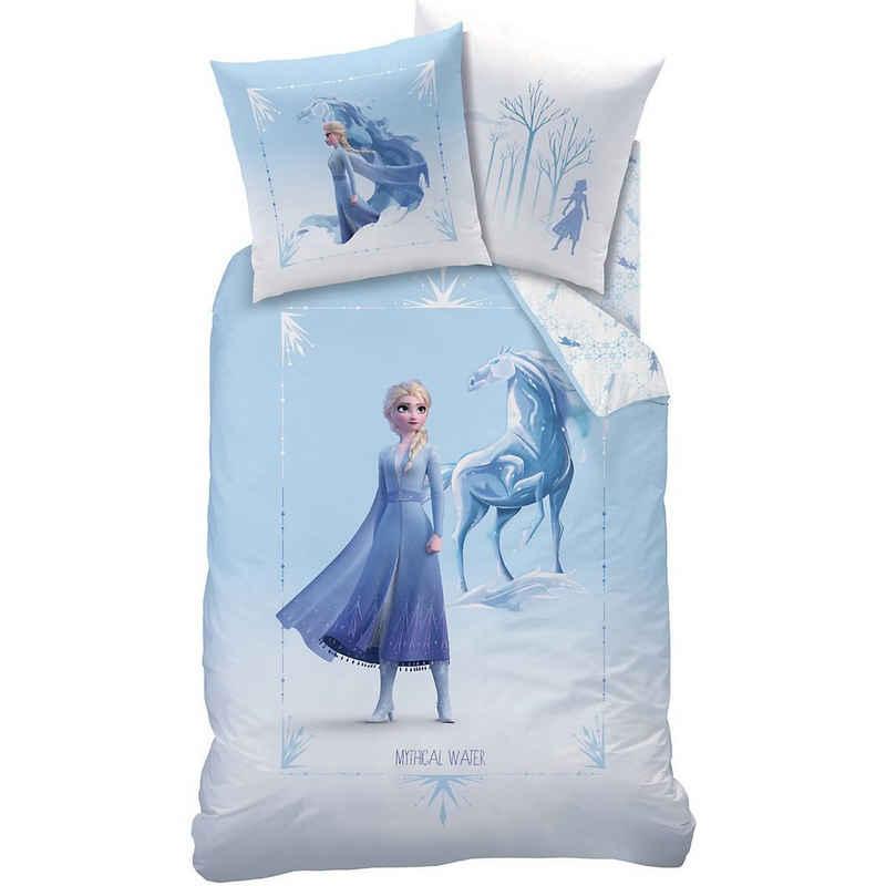 Bettwäsche »Wende- Kinderbettwäsche Frozen 2 Mythical Water,«, CTI