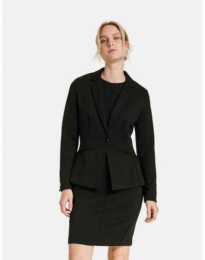 Taifun Shirtjacke »Blazer aus softer Stretch-Qualität« (1-tlg)