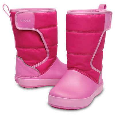 Crocs »Crocs LodgePoint Snow Boot Kids« Gummistiefel