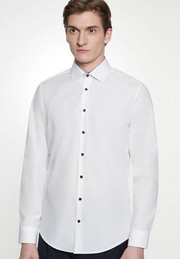 seidensticker Businesshemd »X-Slim« X-Slim Langarm Kentkragen Uni