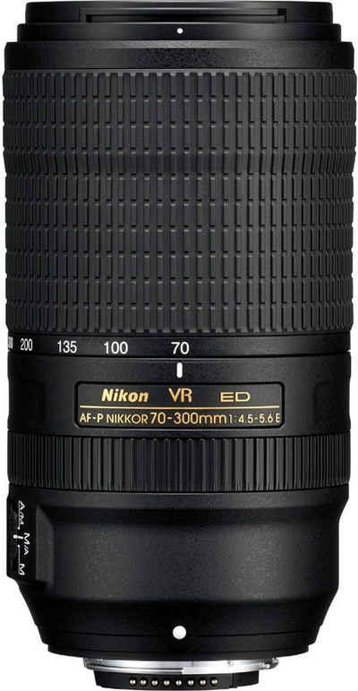 Nikon »AF-P Nikkor 70-300mm f4,5-5,6E ED VR« Objektiv
