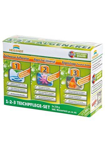 Heissner Teichpflege »Set 1-2-3« 3x250 g