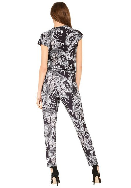 Hosen - Comma Overall mit Paisley Muster ›  - Onlineshop OTTO