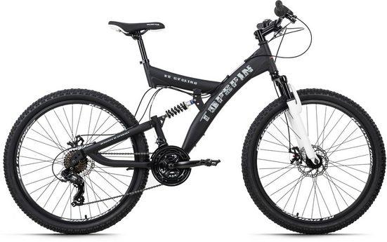 KS Cycling Mountainbike »Topspin«, 21 Gang Shimano Tourney Schaltwerk, Kettenschaltung