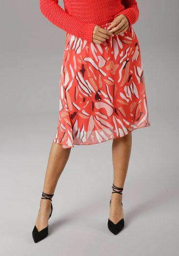 Aniston SELECTED Sommerrock im modischen Druck