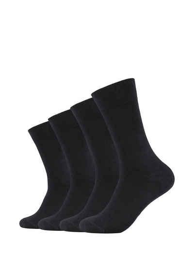 Camano Socken (4-Paar) ca-soft 4er Pack mit Bio-Baumwolle