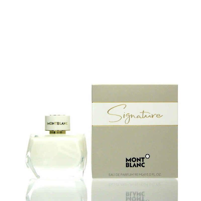 MONTBLANC Eau de Toilette »Mont blanc Montblanc Signature Eau de Parfum 90 ml«