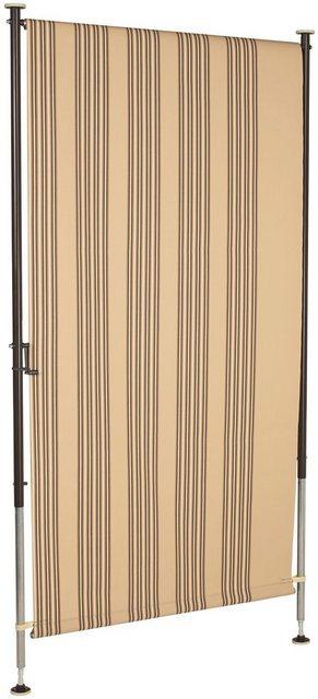 Angerer Freizeitmöbel Balkonsichtschutz, 100% Polyacryl, für Klemm-Markise und Wind- und Sichtschutz