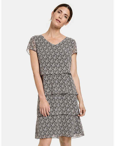 GERRY WEBER Midikleid »Kleid mit Volants«