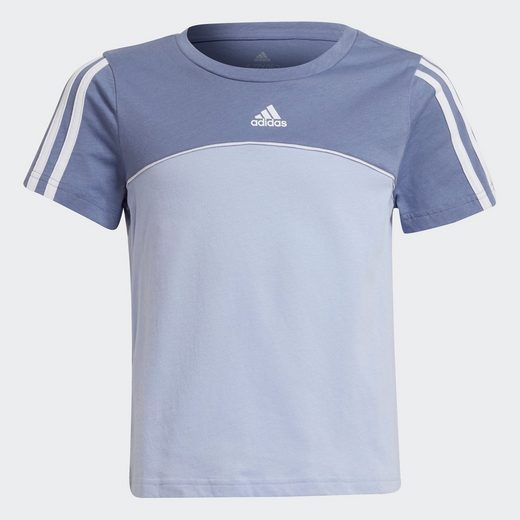 adidas Performance T-Shirt »COLORBLOCK ESSENTIALS JUNIOR RELAXED WOMENS«