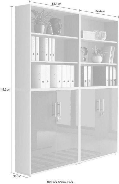 Büromöbel Sets - BMG Büro Set »Tabor«, (Set, 4 St)  - Onlineshop OTTO
