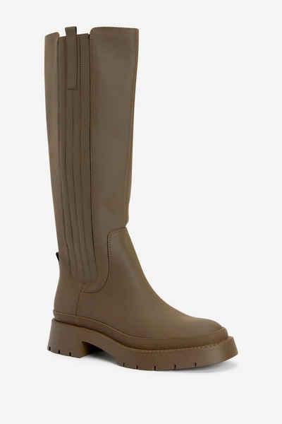 Next »Gummierte, klobige, kniehohe Stiefel« Stiefel (1-tlg)