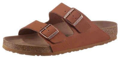 Birkenstock »Arizona Saddle Matt« Pantolette mit verstellbaren Schließen
