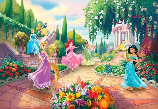 Komar Fototapete »Princess Park«, glatt, Comic, bedruckt, (Packung), ausgezeichnet lichtbeständig