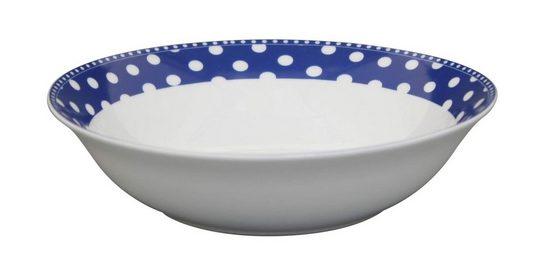 Krasilnikoff Salatteller »Krasilnikoff Salat Schale Punkte dunkelblau«