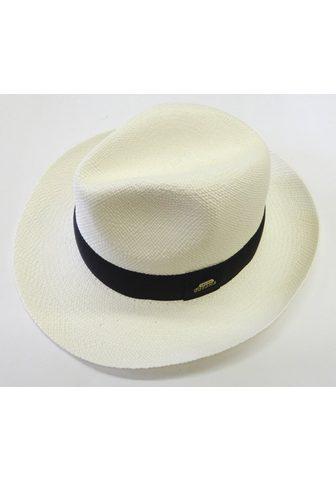 Chaplino šiaudinė skrybėlė su modsichem Stoffba...