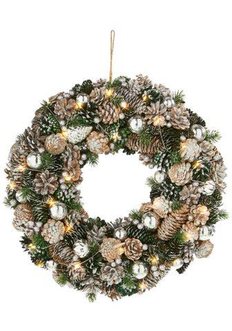 Dekokranz »Weihnachten« su 30 warmweiß...
