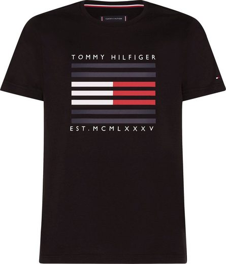TOMMY HILFIGER T-Shirt »CORP FLAG LINES TEE«