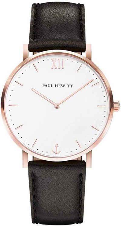 PAUL HEWITT Quarzuhr »PH-SA-R-St-W-2M«