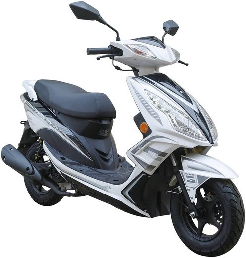 GT UNION Motorroller »GT3«, 50 ccm, 45 km/h, Euro 4