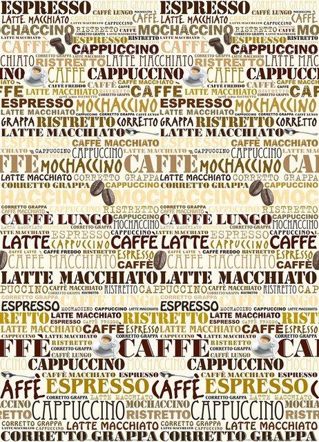 Home affaire Wandtapete, Cafeteria, 183/254 cm