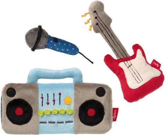 Sigikid Greifspielzeug »Papa&Me, Musik« (Set, 3-tlg)